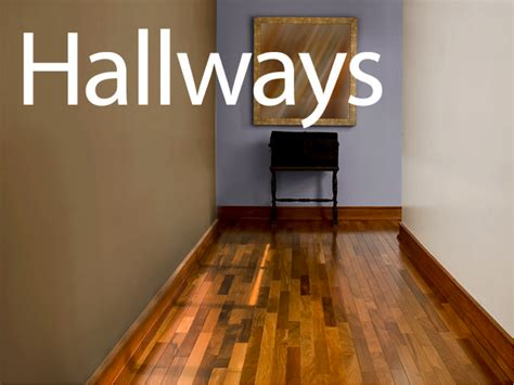 painting one wall hallway darker color than other homes