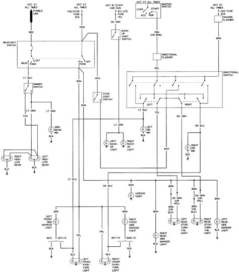 1978 Chevy Turn Signal Wiring Diagram by I Need The Wiring Diagram For The Headlights Turn