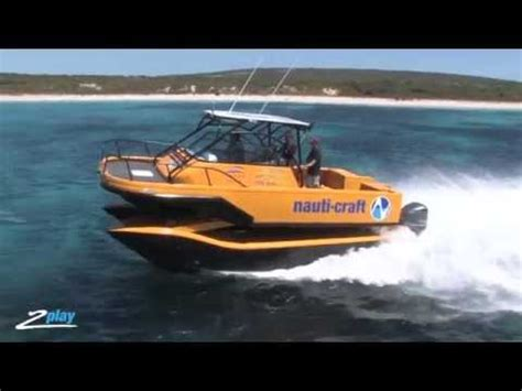 Catamaran Boat Suspension by Nauti Craft Marine Suspension Technology Youtube