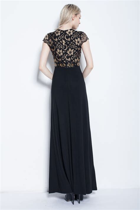 length black dress gorgeous floor length black prom gown evening dresses Floor