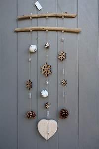 Mobile Bois Flotté : mobile esprit hiver avec bois flott s toiles de neige en ~ Farleysfitness.com Idées de Décoration