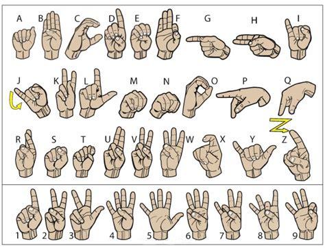 color sign language color sign language cub scout ideas