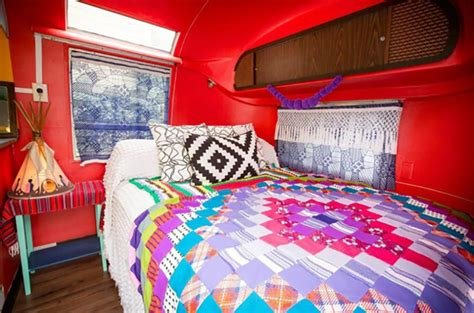 caravane am 233 ricaine airstream 224 la d 233 co multicolore