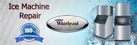 whirlpool ice machine repair