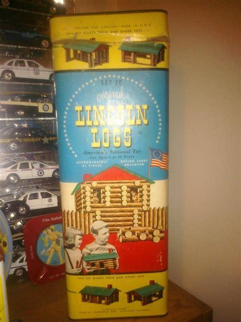 Set 2c Original Lincoln Logs 91 Pieces Collectors Weekly