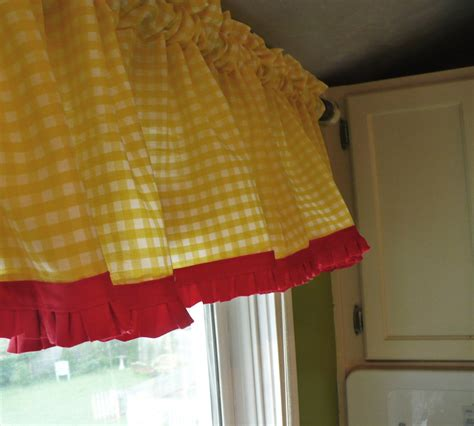 yellow and green kitchen curtains my kitchen more summery a cultivated nest 1983