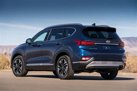 [photos] Redesigned 2019 Hyundai Santa Fe Features New