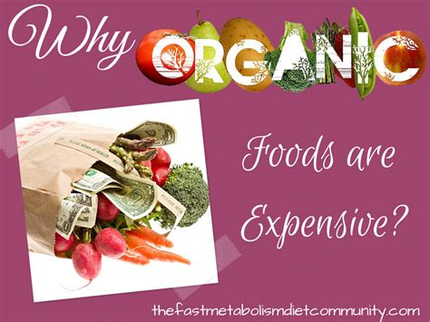 4 Reasons Why Organic Foods Are Expensive