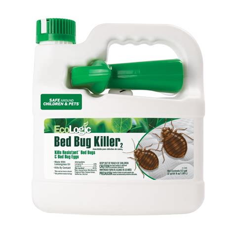 Best Bed Bug Spray Home Depot by Ecologic 64 Oz Ready To Use Bed Bug Hg 75038 The