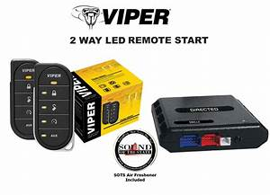 Viper 4806v 2 Way Led Remote Start With Bypass Module