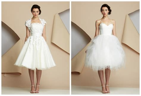 How To Pick Out Elegant Short Style Wedding Gowns