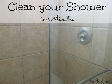 how to clean the shower how to clean glass shower doors the easy way