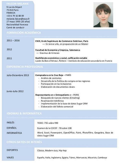 cv 2013 espanol pdf