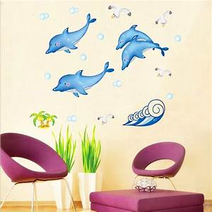 compare prices on dolphin bathroom tiles online shopping With best brand of paint for kitchen cabinets with foil star stickers