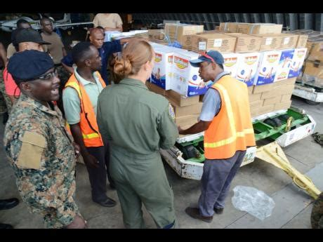 jdf cuisine jdf soldiers to haiti with relief supplies