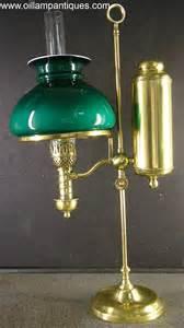 Kerosene Oil Lamp Wicks by Student Oil Lamp By Manhattan Brass Co Oil Lamp Antiques