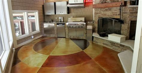 Country Home Interior Designs - concrete flooring finishing styles colors and options the concrete network