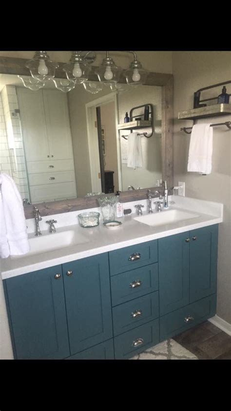 jenn lang minwax classic gray stain  mirror sherwin