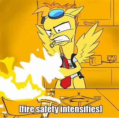 Fire Spitfire Safety Gifs Club Fan Mlp