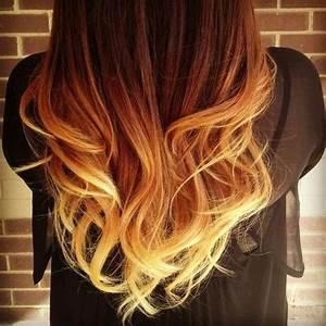 Ombré Hair Auburn : auburn to blonde ombre hairstyles how to ~ Dode.kayakingforconservation.com Idées de Décoration