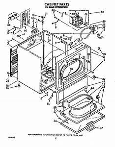 Kitchenaid Keye560wwh0 Dryer Parts
