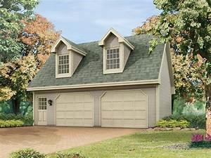 25 car garage plans with living space above two car With 2 5 car garage kits
