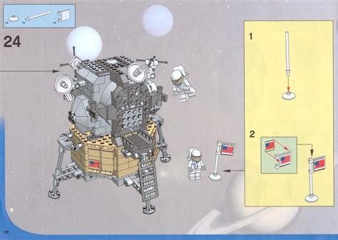 Lego Lunar Lander Instructions 10029, Discovery