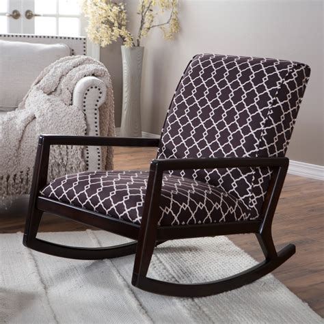 belham living madeleine low profile rocking chair indoor