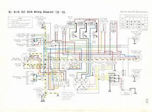 Kawasaki S2a Wiring Diagram