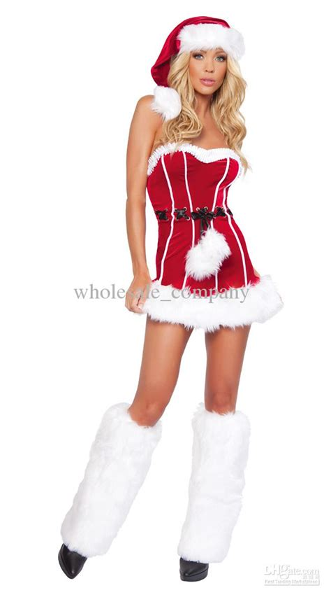 2018 2014 New Sexy Lingeries Santa Claus Soldier Costumes Female Christmas Outfits Suits Girls ...