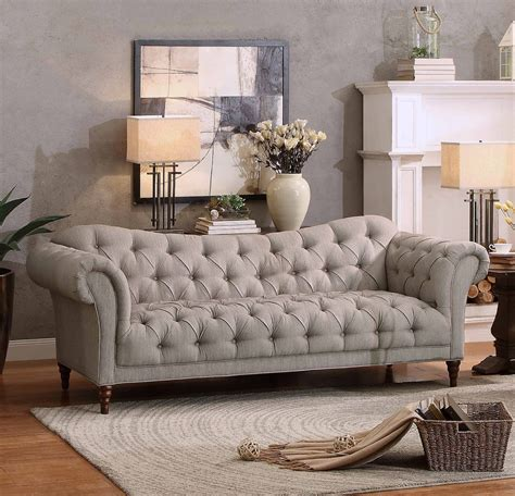 chesterfield style sofa sofas chesterfield style linen chesterfield style sofa