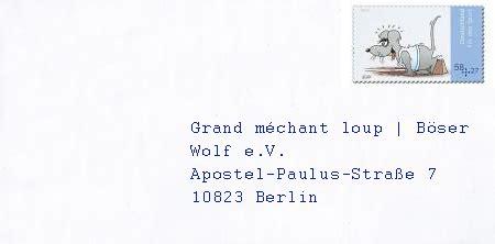 l 39 allemagne pour les enfants envoyer du courrier