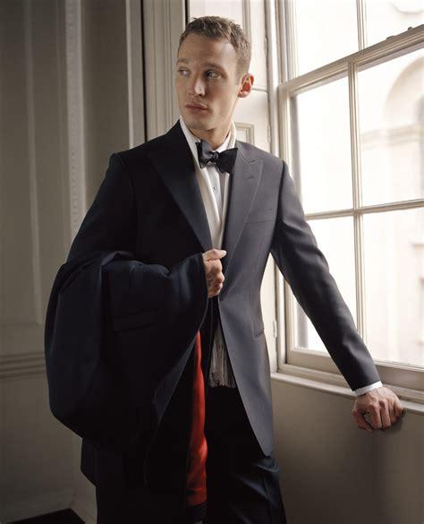 mens styling black tie event  dinner jacket
