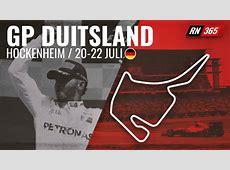 Hoe laat begint de Formule 1 Grand Prix van Duitsland