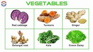 NAMES of VEGETABLES | Learning English 365 - YouTube