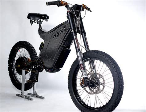 e bike nyx 2015 the world s carbon fiber e bike frame kit 187 gadget flow