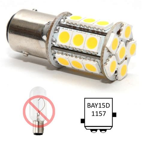 marine led 1157 bay15d bulb for navigation lights
