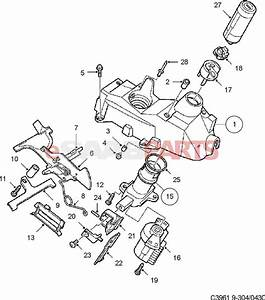 4946307  Saab Ignition Switch  94-98 900ng  1999 9-3  U0026 9-5