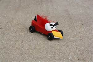 Angry Bird Pinewood Derby Car Designs