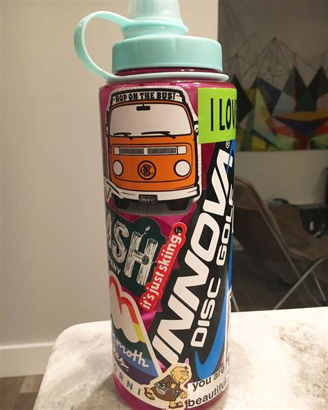 Promotional Stickers for Water Bottles (Nalgene, Camelbak ...