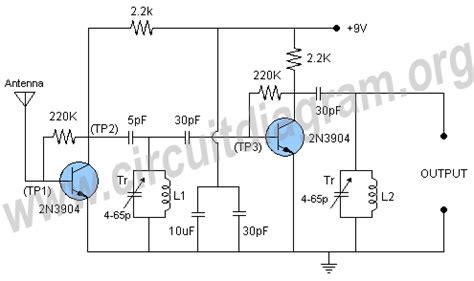 fm antenna booster circuit diagram impt