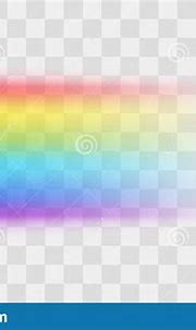 Realistic Detailed 3d Rainbow On A Transparent Background ...