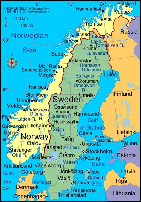 norway information  fun facts