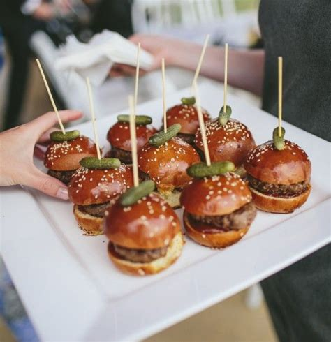 Mini Brioche Sliders, The Perfect Party Food For A