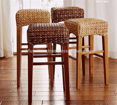 indoor interior wicker rattan furniture dining set bar