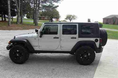 used jeep wrangler 4 door buy used 2011 jeep wrangler unlimited rubicon sport