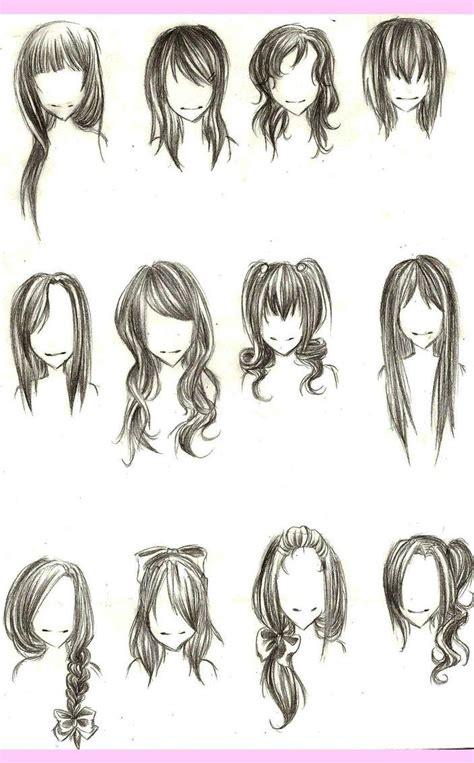 chibi hairstyles chibianime pinterest drawing hair