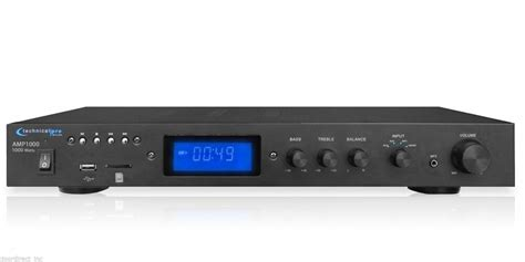 New 1000w Pro Home Digital Stereo Audio Integrated