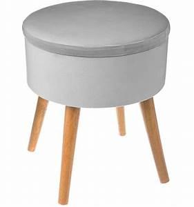 Tabouret Bas Scandinave : tabouret bas scandinave gris ~ Farleysfitness.com Idées de Décoration