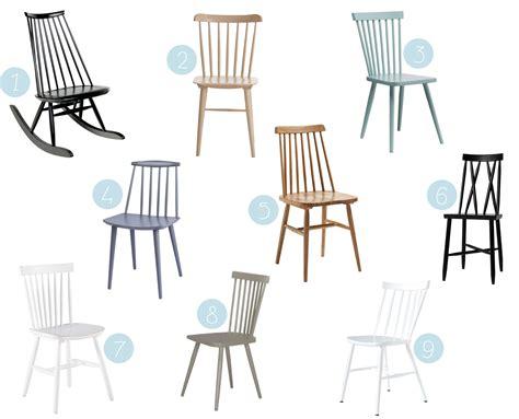où trouver une chaise à barreaux scandinave en bois